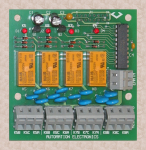 Relay Expansion Option I/O card (REO) for AEPOC
